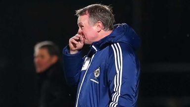 Michael O'Neill: Upset by second-half dismissals