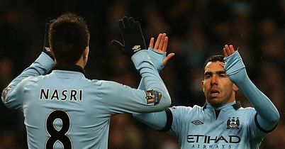 Carlos Tevez and co: Need to keep their foot on the gas