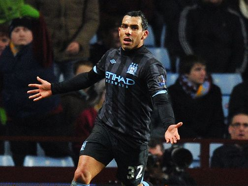Carlos Tevez: Happy at Manchester City and set to discuss a new deal in the summer