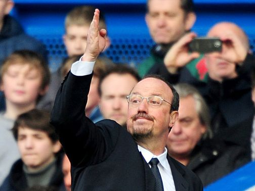 Rafa Benitez: Could be behind after the first leg in Romania