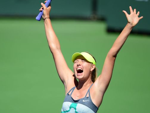 Maria Sharapova: Champion again in Indian Wells
