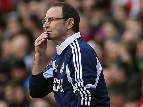 Martin O'Neill: Believes it is all to play against QPR
