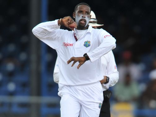 Shane Shillingford: 19 wickets in two Tests against Zimbabwe