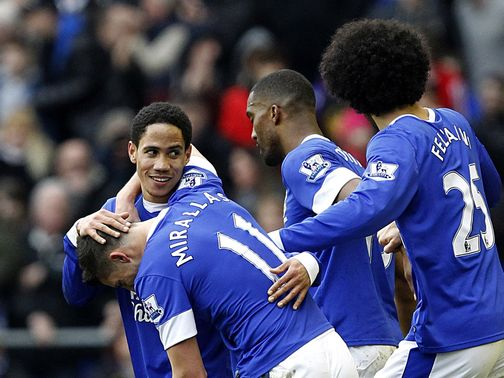 Steven Pienaar: Hoping to sneak into the Europa League next season