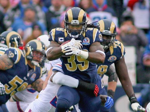 Steven Jackson: Agrees a three-year contract