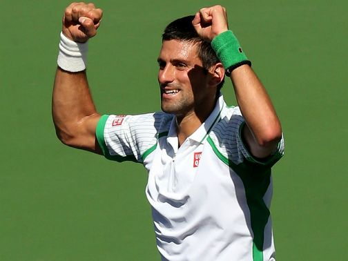 Novak Djokovic: Needed just 54 minutes to reach the last four in Indian Wells