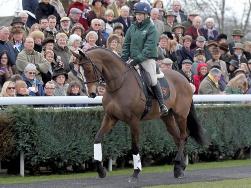 Kauto Star: Showing off his new paces