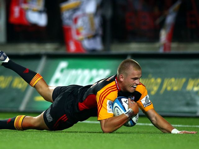 Gareth Anscombe scored 20 points for his side