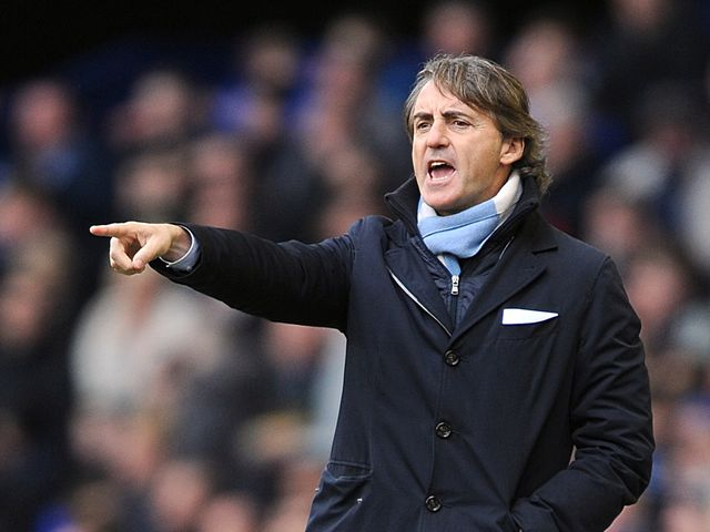 Roberto Mancini: Didn't appear for post-match interviews