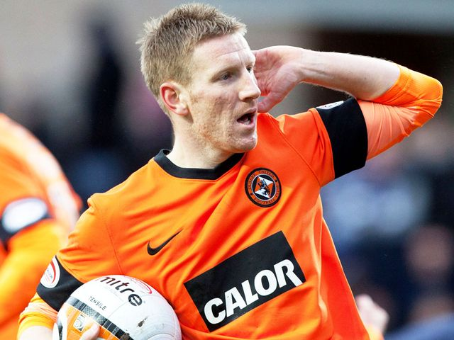 Michael Gardyne: Can't play against Dundee United