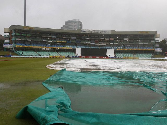 Rain wins at Kingsmead