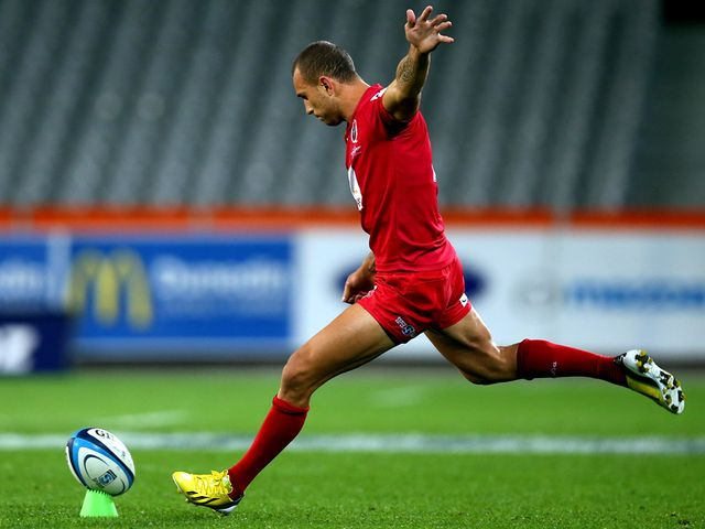 Quade Cooper: Kicked 14 points for the Reds