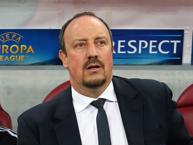 Rafael Benitez: Angry with the award of a penalty to Steaua