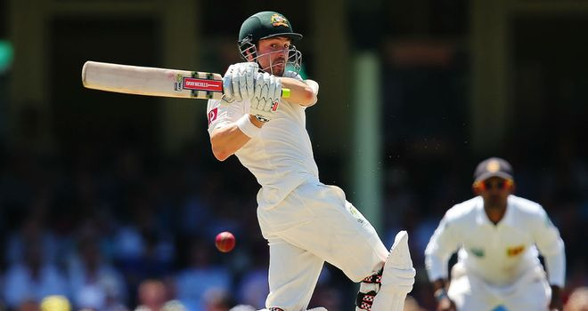 Cowan: One of the many Australia batsmen to struggle with spin