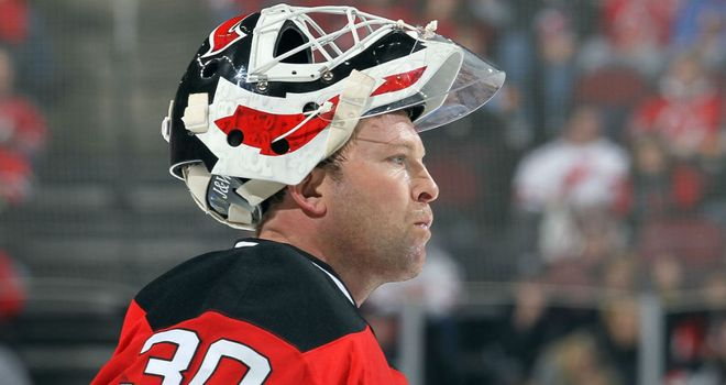 Martin Brodeur: Scored and made 17 saves on his return to action