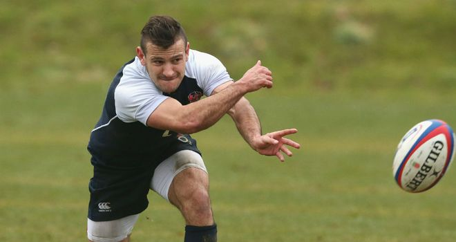 Danny Care: Has been given the chance to impress sgainst Italy