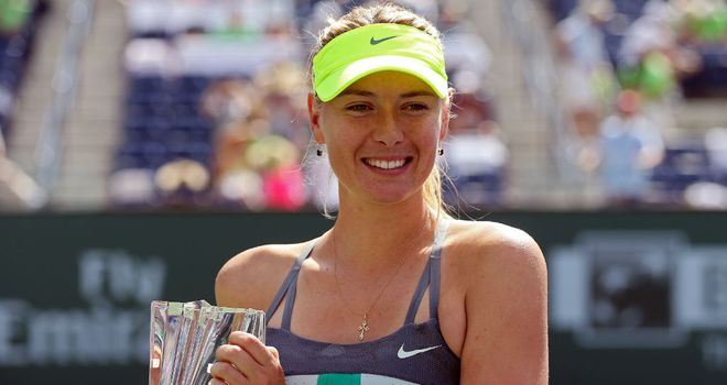 Maria Sharapova: Second Indian Wells title