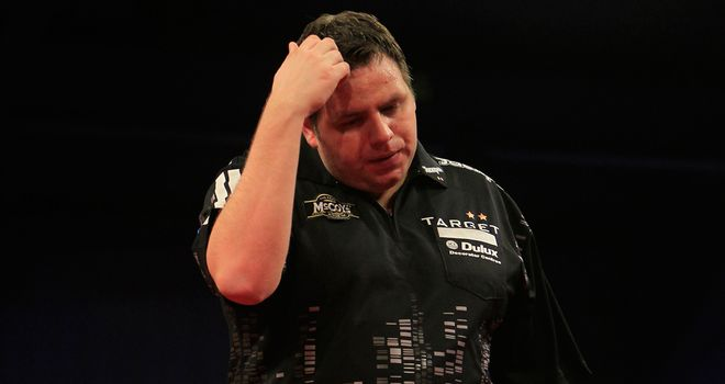 Adrian Lewis: Still bottom of the Premier League after draw with Gary Anderson
