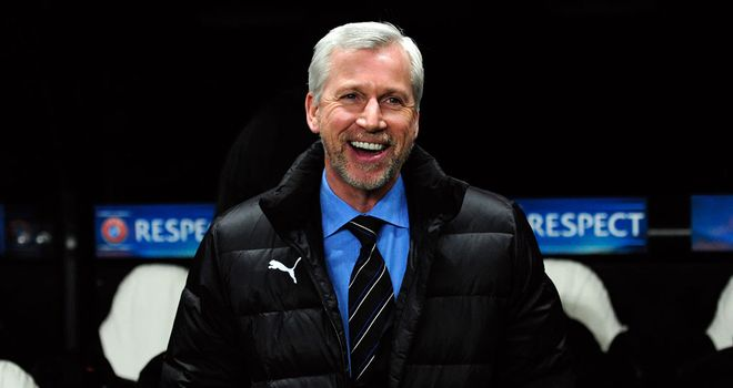Alan Pardew: Setting his sights on continental glory