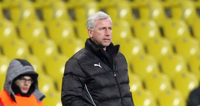 Alan Pardew: Satisfied with goalless draw in Moscow