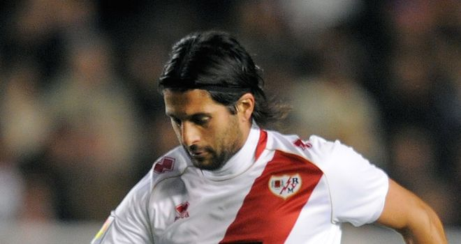 Chori Dominguez: Gave Rayo Vallecano the lead