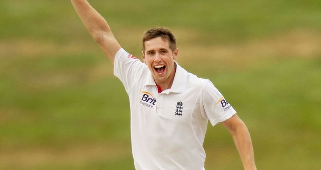 Chris Woakes could not prevent England from slipping to defeat in their warm-up match.