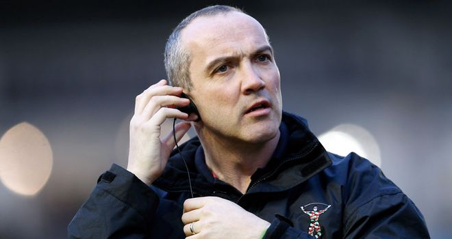 Conor O'Shea: for once he was unhappy with his table-toppers