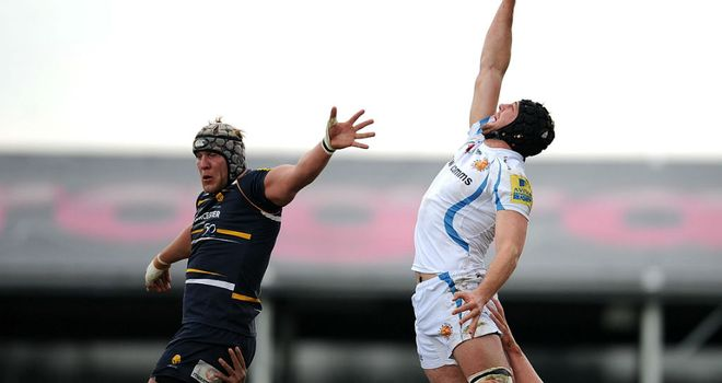 Dean Mumm (R): Scored the late try which gave Exeter the victory