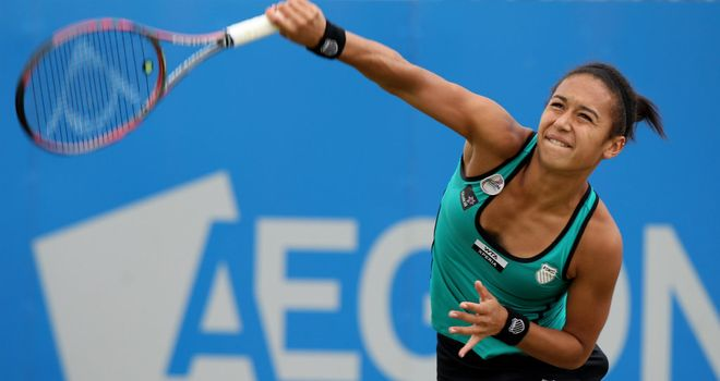 Heather Watson: Pleased to be playing in Birmingham