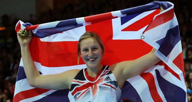 Holly Bleasdale: Briton secured pole vault gold after a rare jump-off