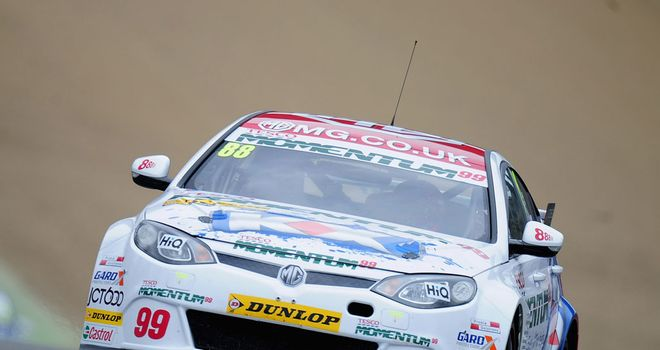 Jason Plato: Delighted to be on pole