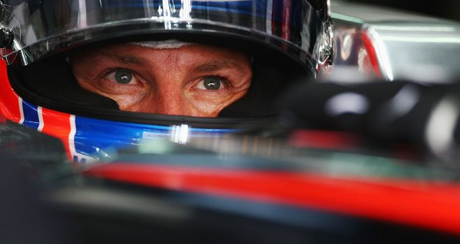 Jenson Button: Still has his eyes on the 2013 title