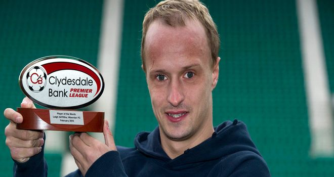 Leigh Griffiths: Named SPL player of the month for February.