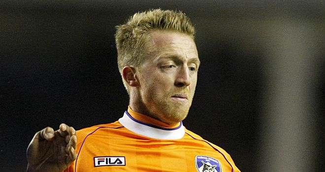 Lee Barnard: Faces a late fitness test
