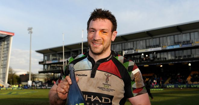 Tom Guest: Forward to swap Harlequins for London Irish