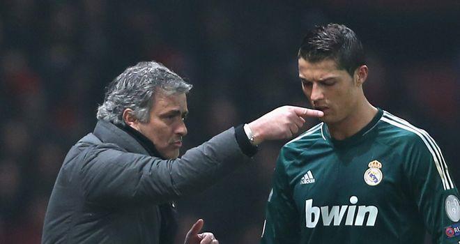 Jose Mourinho: Critical of Cristiano Ronaldo