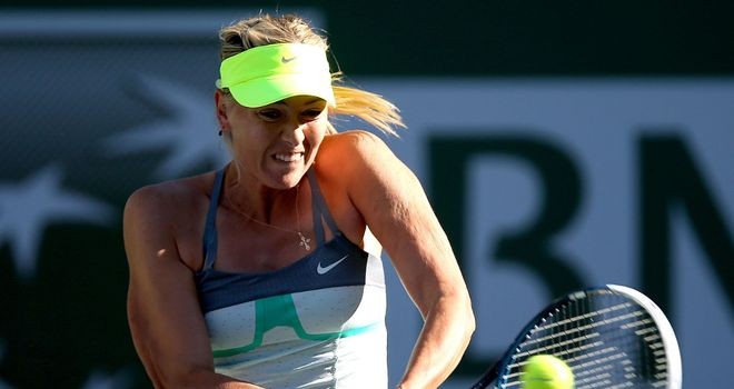 Maria Sharapova: Battles into fourth round