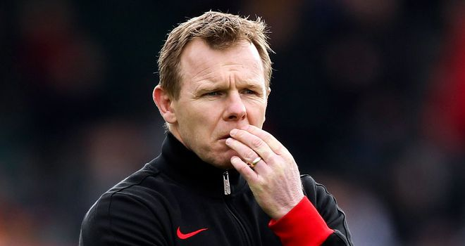 Mark McCall: delighted with his side's recent form