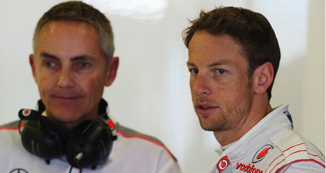 Martin Whitmarsh: Sees his cars line up on rows five and eight