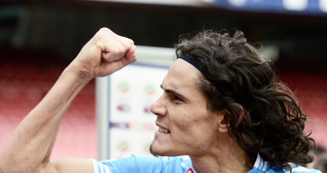 Edinson Cavani: Scored twice for Napoli