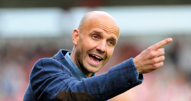 Paul Tisdale: Pleased with his charges