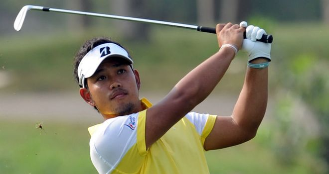 Chinnarat Phadungsil: Has seven successive birdies from the 10th onwards during his 61