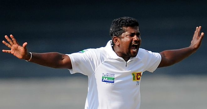 Herath claimed his 15th five-wicket haul in Tests