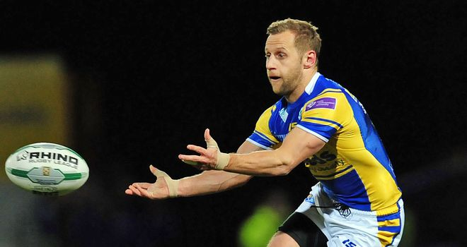 Rob Burrow: Leeds Rhinos' playmaker enjoying the heat in England