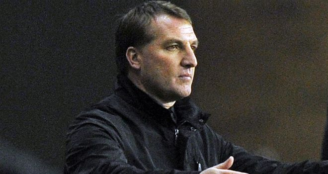 Brendan Rodgers: Casting his eye over trialist Daniel Carr