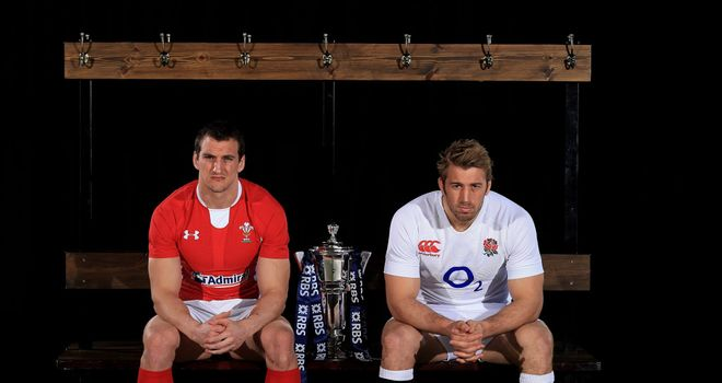 Sam Warburton and Chris Robshaw: Key showdown on Saturday