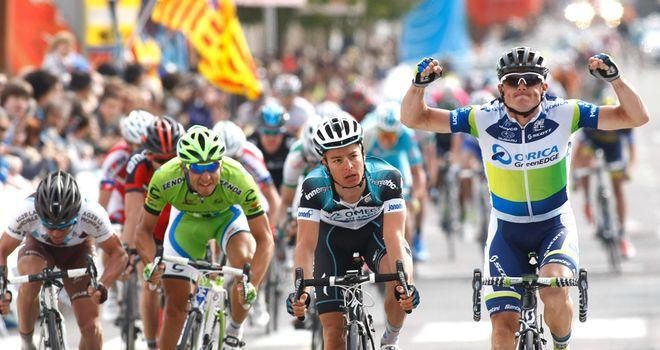 Simon Gerrans: Impressive turn of speed to win stage six
