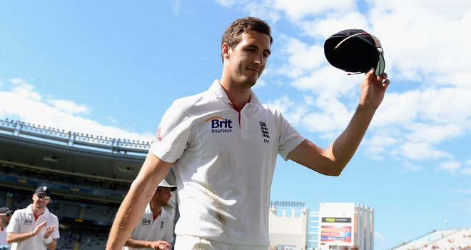 Finn: Took six wickets on day two of the third Test