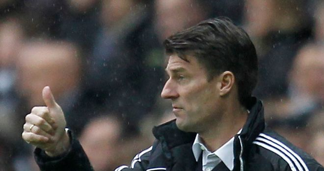 Michael Laudrup: Happy at Swansea despite being linked with Everton