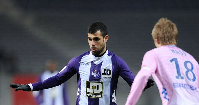 Eden Ben Basat in action for Toulouse